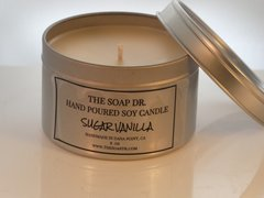 Sugar Vanilla Soy Candle 8 oz