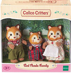 Calico Critters Red Panda Family (IPSCC1492)