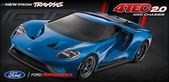 Traxxas Ford GT 4TEC 2.0 RC Car (TRA83056-4)