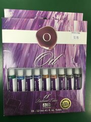 Oil Color Paint 18pc Set (ART3183)