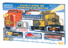 Bachmann Digital Commander Deluxe DCC HO Train Set (BACU0501)