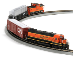 Athearn Iron Horse Train Set HO BNSF (ATH29302)
