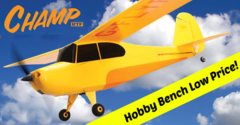 HobbyZone Champ Ready-To-Fly R/C Plane (HBZ4900)