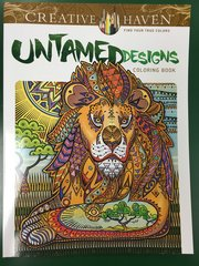 Untamed Designs Coloring Book (DOV80759)