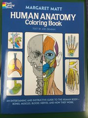 Human Anatomy Coloring Book (DOV24138-8)