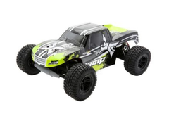 ECX AMP MT 1/10 Scale 2WD Monster Truck RTR Black/Green 2.4GHz Brushed (ECX03028)