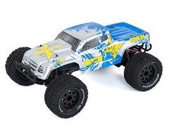 ECX Ruckus 1/10 2WD RTR Electric Monster Truck Silver/Blue (ECX03331T1)