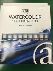 Watercolor Paint 18 Piece Set (ART3186)