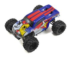 ECX 1/24 Ruckus 4WD Monster Truck (Blue/Red)