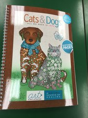 Cats & Dogs Coloring Book (WHCY9060)