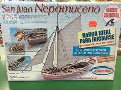 San Huan Nepomuceno Wood Ship Model Kit (LATB8010)