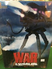 War of the Worlds Alien Tripod Model Kit