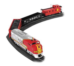 Bachmann Trains Santa Fe Flyer Ho Scale Electric Train Set (BAC0647)