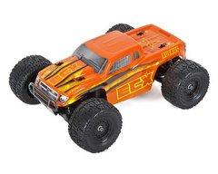 ECX Ruckus 1/18 RTR 4WD Electric Monster Truck Orange/Yellow (ECX01000T2)