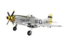 E‑flite P‑51D Mustang BNF Basic with AS3X Technology (EFL6750)