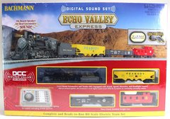 Bachmann Trains Echo Valley Express - HO Scale Ready-To-Run Electric Train Set With Sound Value Loco (BAC0825)