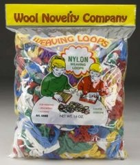 Nylon Weaving Loops 16oz. Bag (WOLY0488)