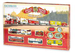 Ringling Brothers and Barnum & Bailey Circus Ringmaster Electric Train Set (BACU0714)
