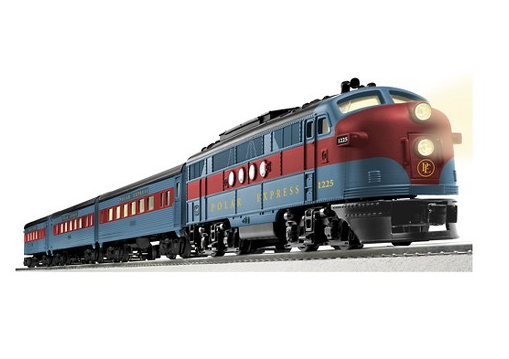 Lionel 10th Anniversary Polar Express Streamliner O Scale