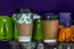 Coffee Cup Sleeve 250 8oz