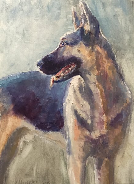 Giclee Print of Duke from Oil Paintings by Wayne E Campbell
