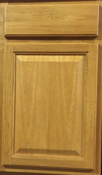 Hartford Oak base cabinet 21w x 24d x 34.5h