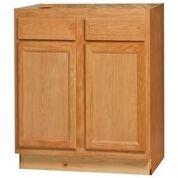 Chadwood Oak Sink Base cabinet 36w x 24d x 34.5h