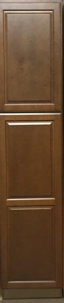 Bristol Brown Wall Pantry 18w x 24d x 84h