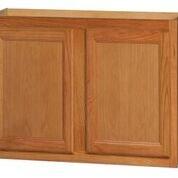 Chadwood Oak wall cabinet 36w x 12d x 30h