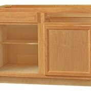 Chadwood Oak Blind Base Corner cabinet sets 42w x 24d x 34.5h (Local Pickup Only)