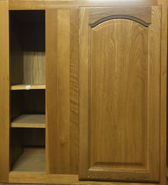 Hartford Oak Wall Blind Corner cabinet 27w x 12d x 30h
