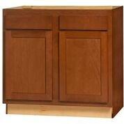 Glenwood Base Peninsula cabinet 48w x 24d x 34.5h