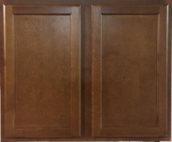 Bristol Brown 33w x 30h wall cabinet
