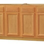 Chadwood Oak Sink Base cabinet 60w x 24d x 34.5h (Local Pickup Only)
