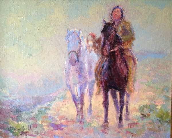 Oil Paintings by Wayne E Campbell (The Prize)
