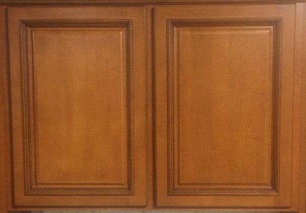 TMG Cherry Glazed Maple Wall 24w x 12d x 36h