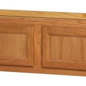 Chadwood Oak wall cabinet 36w x 12d x 12h (Local Pickup Only)