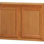 Chadwood Oak wall cabinet 33w x 12d x 30h