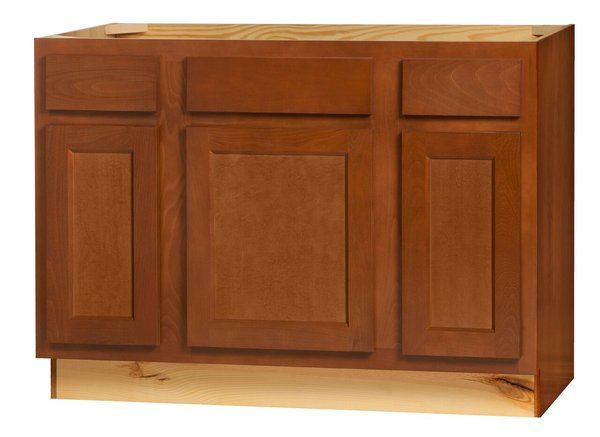 """Glenwood Vanity Base cabinet with Drawers 42""""w x 21""""d x 34.5""""h (Local Pickup Only)"""