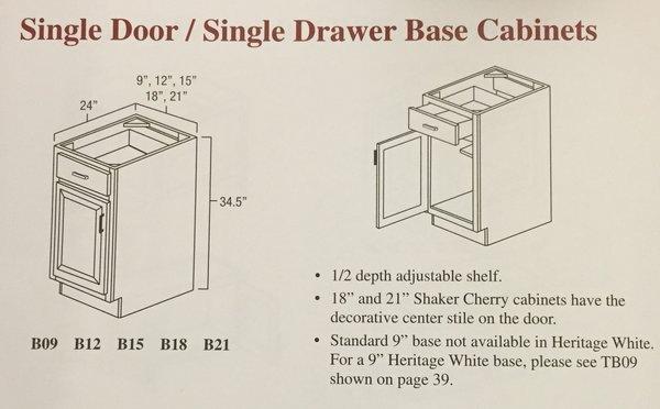 BGH 9 base Cabinet