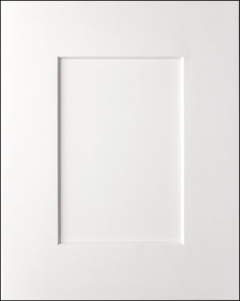 White Shaker Decorative Panels for side of 12x30 wall cabinet