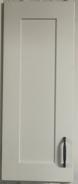 White Shaker wall cabinet 12w x 12d x 42h