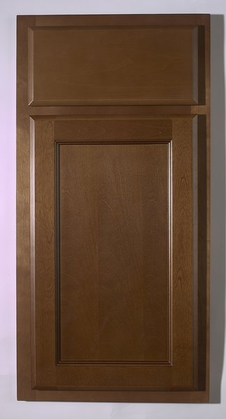 Bristol Brown base cabinet 18w x 24d x 34.5h