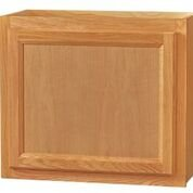 Chadwood Oak wall cabinet 24w x 12d x 18h
