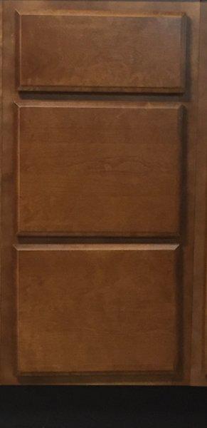 Bristol Brown Drawer Base Cabinet 15w x 24d x 34.5h