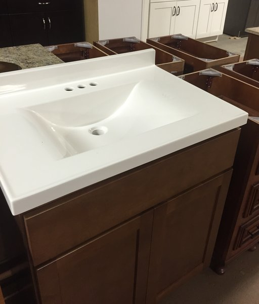 Cultured Marble Top Ar2237 Cabinet Barn