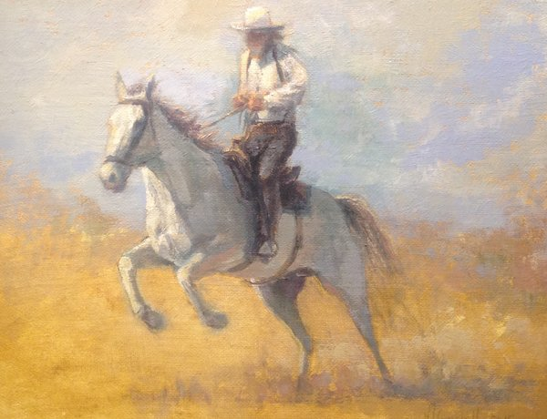 Oil Paintings by Wayne E Campbell (Riding High)