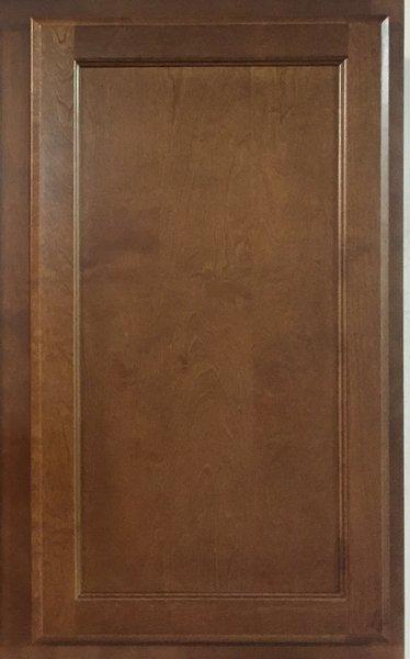 Bristol Brown 24x 30 WDC wall corner cabinet