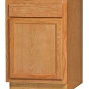 Chadwood Oak Base cabinet 18w x 24d x 34.5h