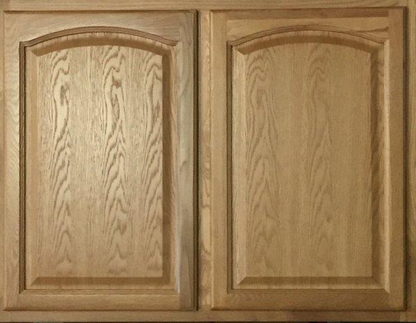 Hartford Oak wall cabinet 27w x 12d x 30h